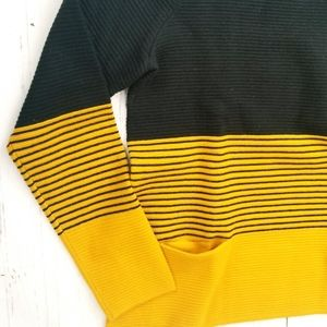 Sweaters - 1.2.3. Paris Ribbed Knit Color Block Sweater